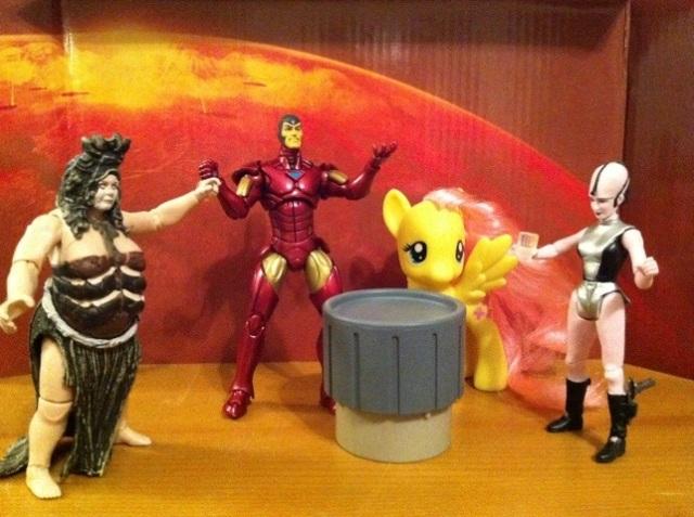 Tony Stark Iron Man Wave 16 Marvel Universe Hasbro Action Figure