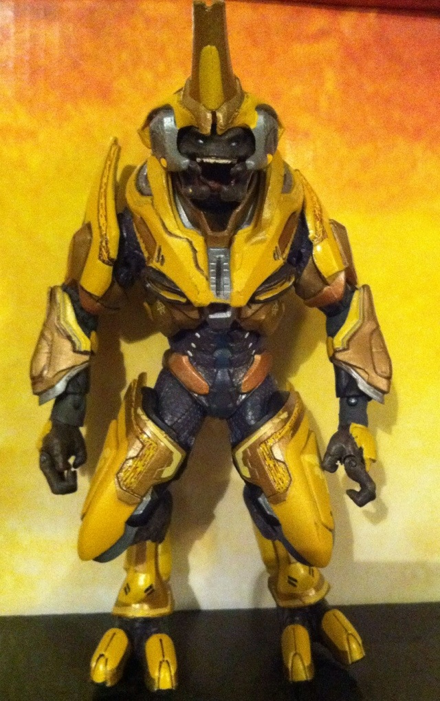 TOY REVIEW: Halo Reach Series 4 Elite General Action ...