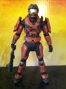 Halo Reach Spartan CQC Armor Rust Orange