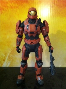 Halo Reach Spartan ODST Armor Rust Orange