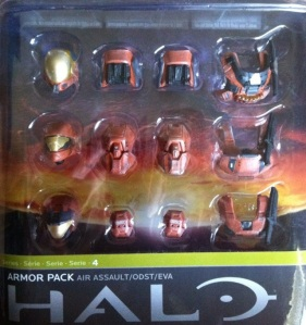 Halo Reach Rust Orange Armor Pack (McFarlane Toys)