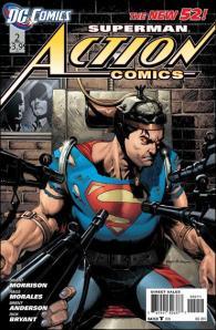 Action-Comics #2 Cover DC Comics New 52