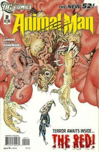 Animal Man #2 Cover DC Comics The New 52