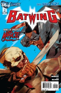 Batwing #2 Cover DC Comics The New 52