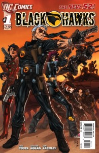 Blackhawks #1 Cover DC Comics The New 52