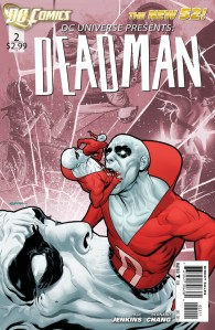 DC Universe Presents Deadman #2 Cover