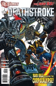 Deathstroke #2 Cover DC Comics New 52