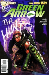 Green Arrow #2 Cover DC Comics New 52