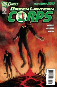 Green Lantern Corps #2 Cover