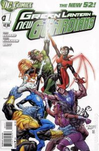 Green Lantern New Guardians #1 Cover