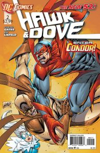 Hawk & Dove #2 Cover DC Comics The New 52