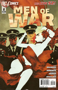 Men of War #2 Cover DC Comics The New 52