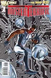 Mr. Terrific #1 Cover DC Comics The New 52