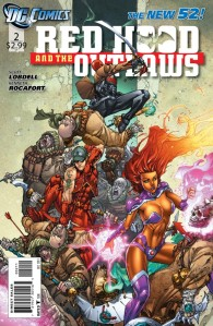 Red Hood and the Outlaws #2 Cover
