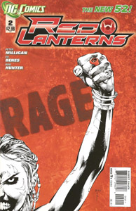 Red Lanterns #2 Cover DC Comics The New 52