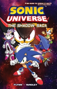 Sonic Universe Volume 1 -- The Shadow Saga Graphic Novel