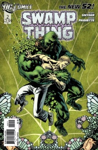Swamp Thing #2 Cover DC Comics The New 52