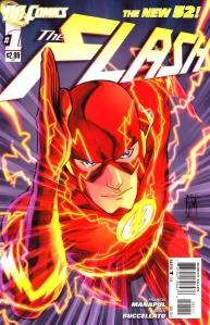 The Flash #1 Cover DC Comics The New 52