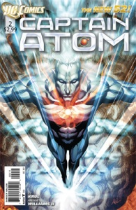 Captain Atom #2 Cover