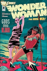 Wonder Woman #2 Cover