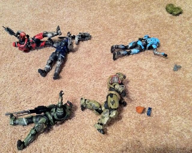Halo Reach Casualties of War