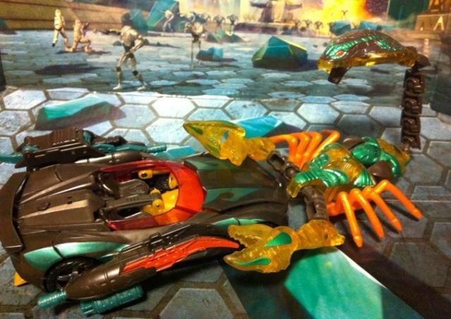 Beast Wars Quickstrike Battles Darksteel Transformers 3 Dark of the Moon Deluxe