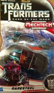 Darksteel Transformers 3 Dark of the Moon Deluxe Packaged