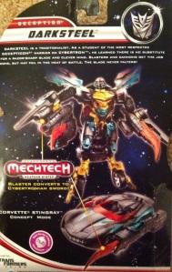 Darksteel Transformers 3 Dark of the Moon Deluxe Cardback