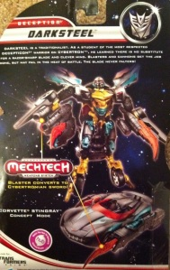 Darksteel Transformers 3 Dark of the Moon Deluxe Cardback