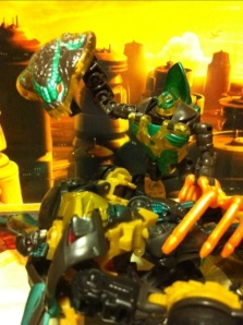 Darksteel Transformers 3 Dark of the Moon vs. Beast Wars Quickstrike!