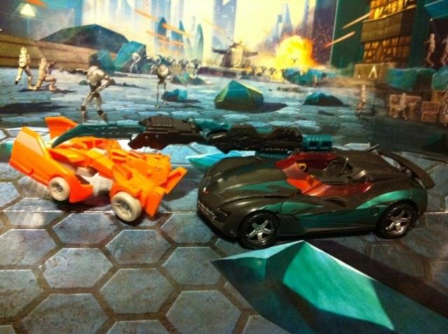 Darksteel Transformers 3 Dark of the Moon Deluxe Kills Wheelie