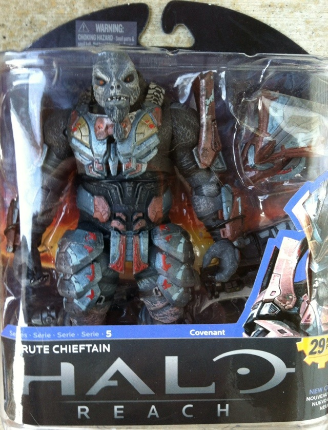 TOY REVIEW: Brute Chieftain Halo Reach Series 5 Action