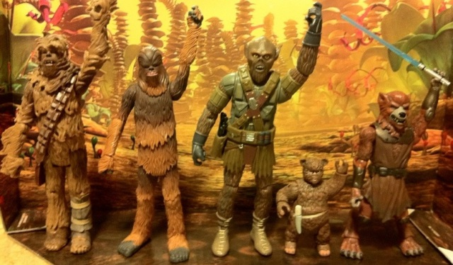 Star Wars Clone Wars Chewbacca Action Figure