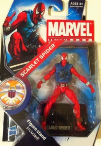 Marvel Universe Scarlet Spider Action Figure Wave 14 Packaged