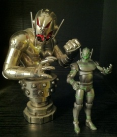 Bowen Designs Ultron and Hasbro Marvel Universe Ultron