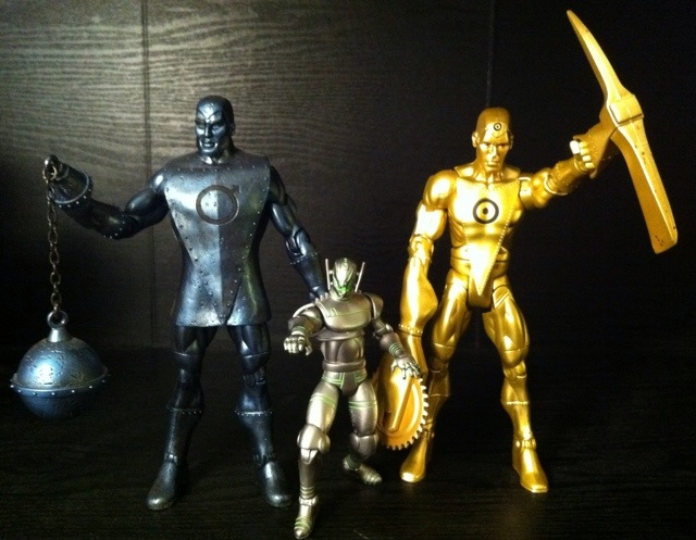 Marvel Universe Ultron Commands his Metal Men brothers into battle!