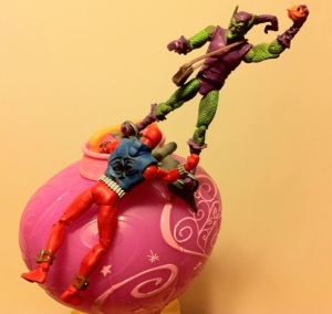 Scarlet Spider vs. Green Goblin