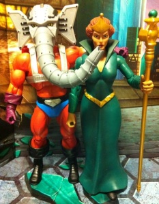 Masters of the Universe Classics Snout Spout and Queen Marlena Action Figures