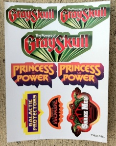 Sticker Sheet Masters of the Universe Classics