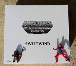 Masters of the Universe Classics Swiftwind Box