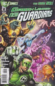 Green Lantern: New Guardians #2 Cover (DC Comics New 52)