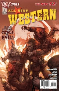 All-Star Western #2 Cover (DC Comics New 52)