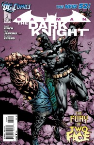 Batman The Dark Knight #2 Cover (DC Comics New 52)