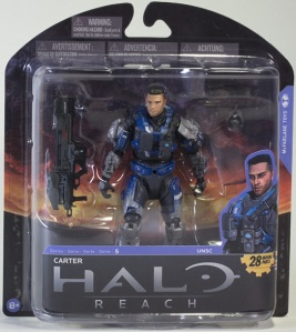 Carter Unhelmeted Halo Reach Series 5