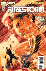 The Fury of Firestorm The Nuclear Men #2 Cover (DC Comics New 52)