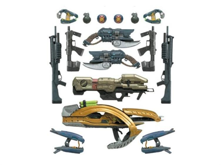 toy review halo reach series 5 weapons pack mcfarlane