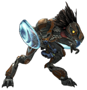 Skirmisher Champion Halo Reach In-Game Sprites