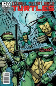 Teenage Mutant Ninja Turtles #3 Cover (IDW Publishing)