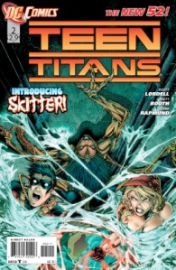 Teen Titans #2 Cover (DC Comics New 52)