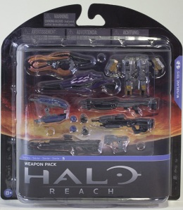 Halo Reach Weapons Pack Toys Series 5